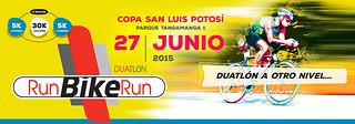 duatlon run bike run SLP 2015