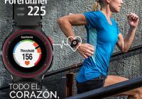 garmin forerunner 225 FC muñeca ritmo cardiaco GPS reloj