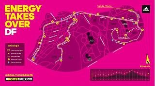 Ruta de la carrera adidas 21K 2015