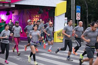La Ciudad de México se cubre de energía con la carrera adidas 21k