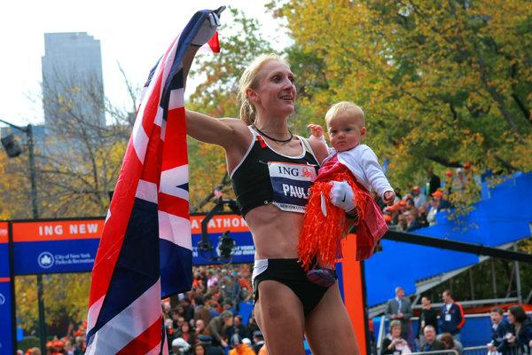 Paula Radcliffe Maraton de Nueva York