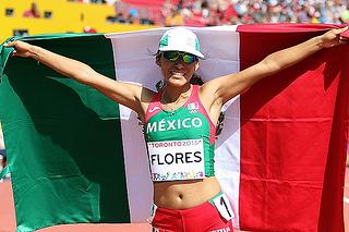 brenda flores medalla oro atletismo juegos panamericanos