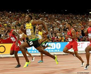 Usain Bolt vence a Gatlin en los 100m del Mundial en Beijing (video)