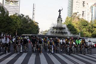 ruta maraton ciudad de mexico ciclista 2015