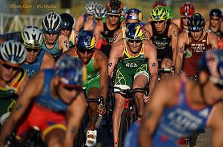 Crisanto Grajales logra 4to lugar en la Gran Final de la Serie Mundial de Triatlón