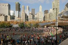 45 mil corredores participarán en el Maratón de Chicago 2015 (video)
