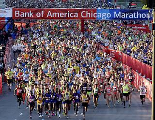 Chumba y Kiplagat ganan el Maratón de Chicago 2015 (Resultados)