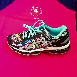 La colección ASICS del Maratón de Nueva York 2015