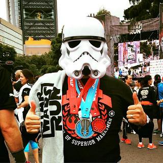 carrera star wars run mexico mx 7K 21K resultados