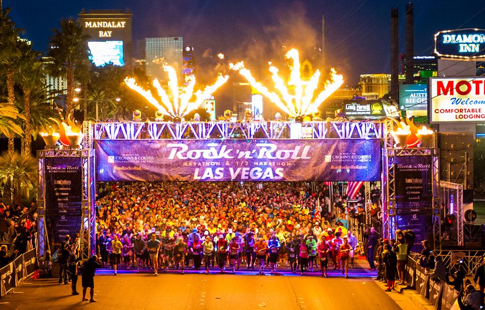Maratón Rock n Roll Las Vegas 2017