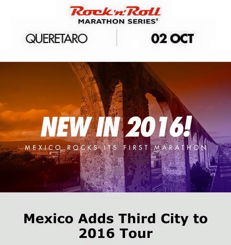 Rock n Roll Marathon Querétaro