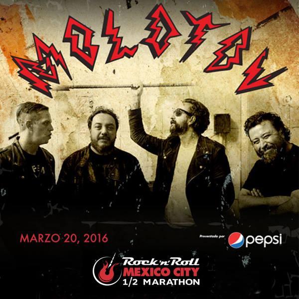 Molotov será la banda del Medio Maratón Rock 'n' Roll Ciudad de México