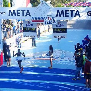 Keter y Kimaiyo ganan el Maratón LALA 2016, mexicanos sin fortuna para Rio 2016