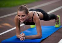 planchas fortalecer abdomen core running fitness