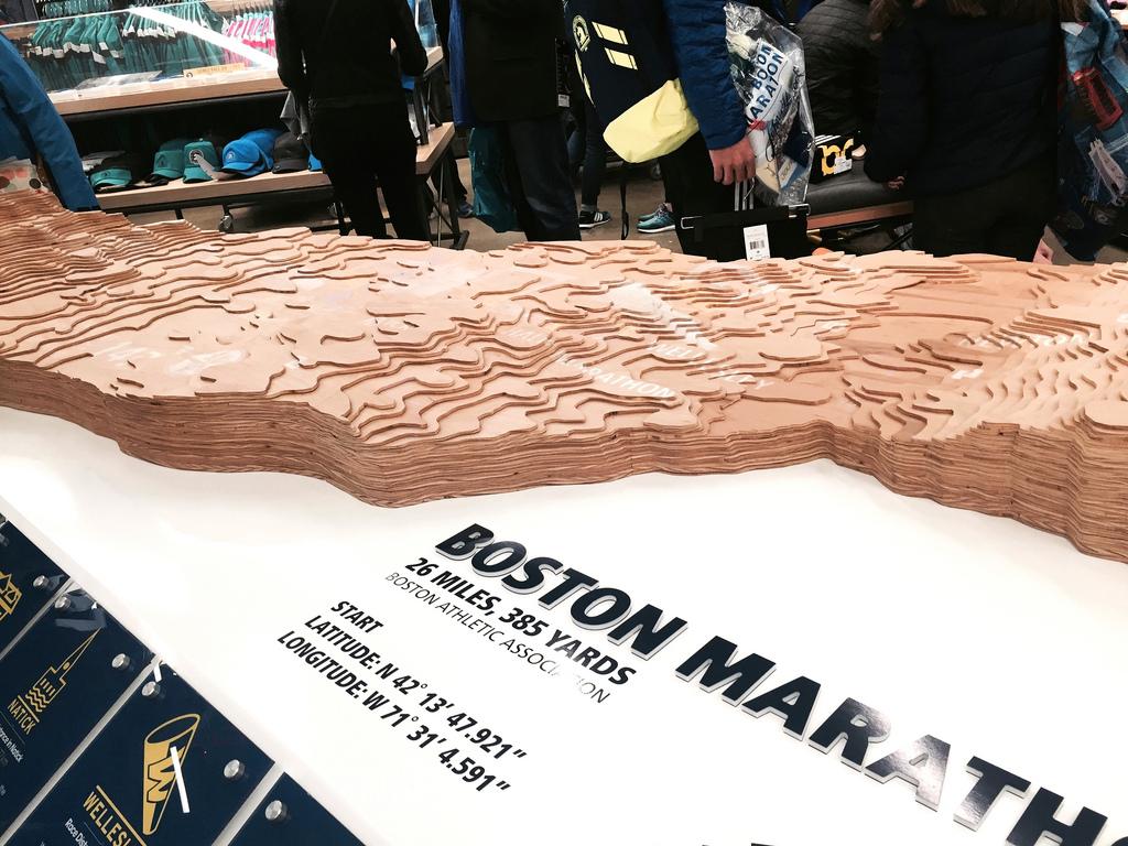ruta marathon de boston 2016 hearbreak hills boylston street