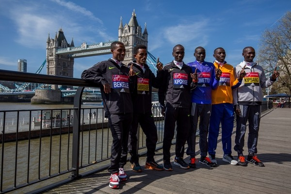 Los mejores maratonistas estarán en el Maratón de Londres