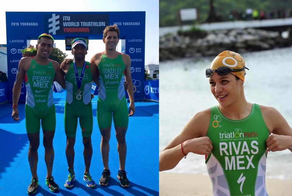 triatletas mexicanos juegos olimpicos rio 2016