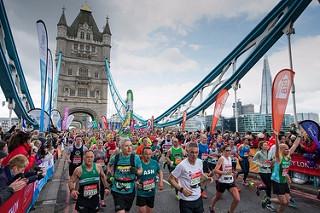 El registro para el sorteo del Maratón de Londres 2017 esta abierto