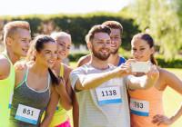 encuesta corredores running selfies