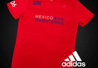 playera adidas 21K 2016 rosa naranja