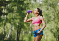 carbohidratos durante el ejercicio correr