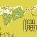 Ruta del Medio Maratón de la Ciudad de México 2016