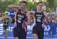 hermanos brownlee campeonato mundial ITU cozumel resultados video