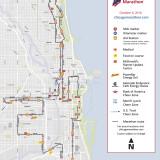 Ruta del Maratón de Chicago