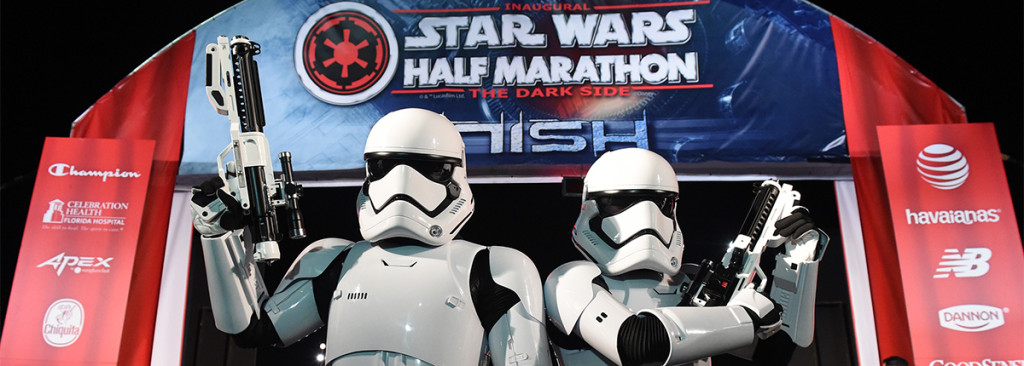 stars wars half marathon dark side orlando disney world