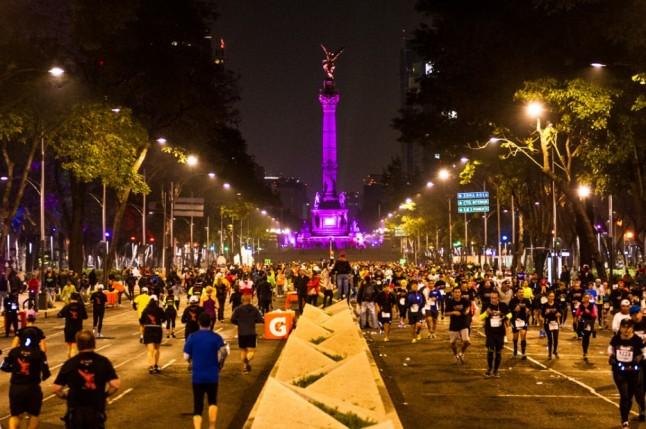 calendario de medio maratones 21K mexico 2017