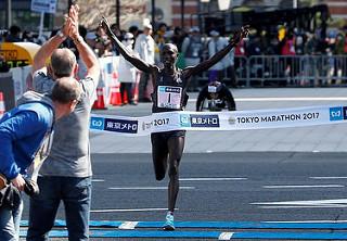 kipsang gana el maraton de tokio 2017
