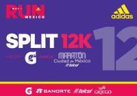split adidas 12K 2017 splits maraton ciudad de mexico inscripciones