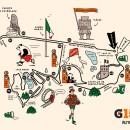 Ruta de la carrera Gatorade 15K 2017