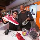 Usain Bolt y otras celebridades se reúnen para develar una revolución en el calzado