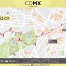 Ruta del Medio Maratón de la Cuidad de México 2017
