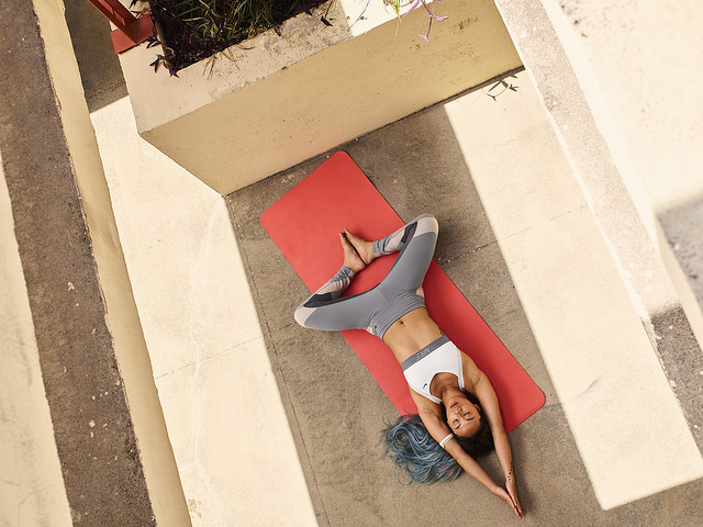 yoga corredores nike training club fitness app