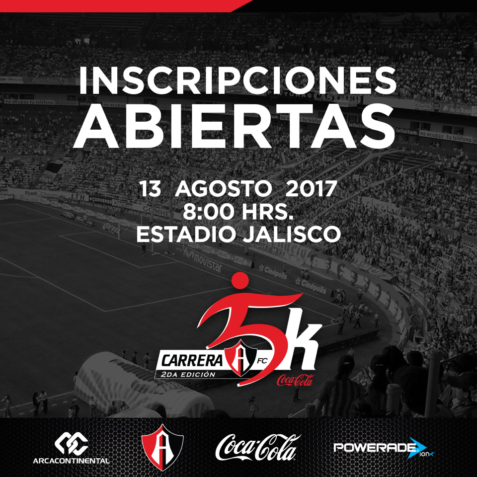 carrera centenario atlas 5K