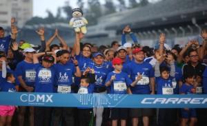 Carrera Familiar e Infantil Maratón CDMX