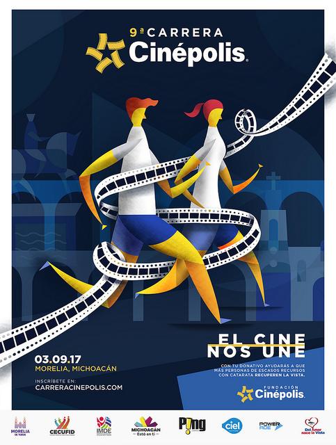 carrera cinepolis 2017 inscripciones morelia