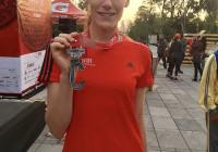 playera y medalla del maraton de la ciudad de mexico 2017 maraton cdmx