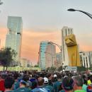 Video de la meta del Medio Maratón de la Ciudad de México 2017