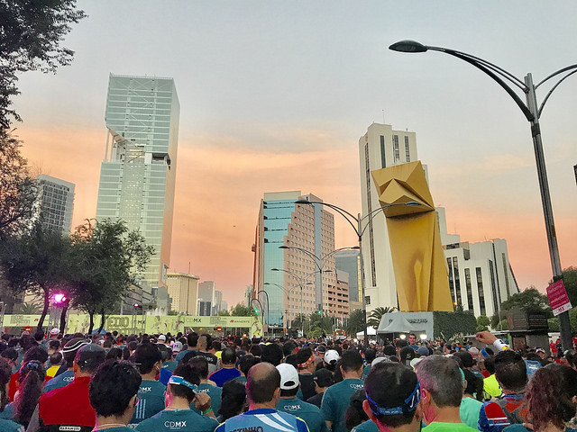 video medio maraton ciudad de mexico 21k cdmx 2017