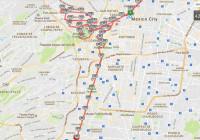 ruta maraton ciudad de mexico 2017