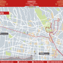 Ruta modificada del Maratón de la Ciudad de México 2017