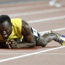 Usain Bolt se lesiona en su última carrera (video)