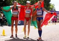 mexicana marchista guadalupe gonzalez medalla plata mundial atletismo iaaf londres 2017