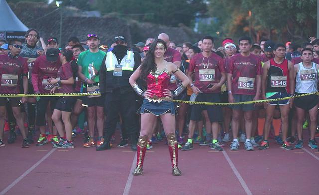 carrera liga de la justicia 21K 10K emocion deportiva medio maraton