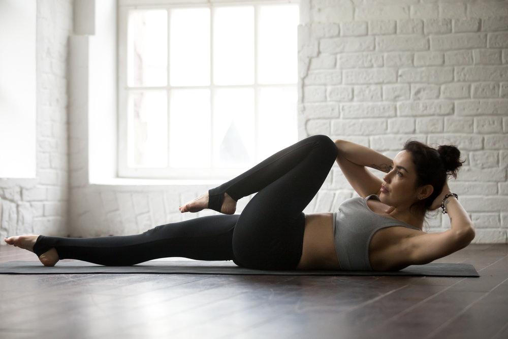 sesion rutina abs abdominales fitness video