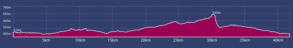 altimetria maraton powerade monterrey 2017