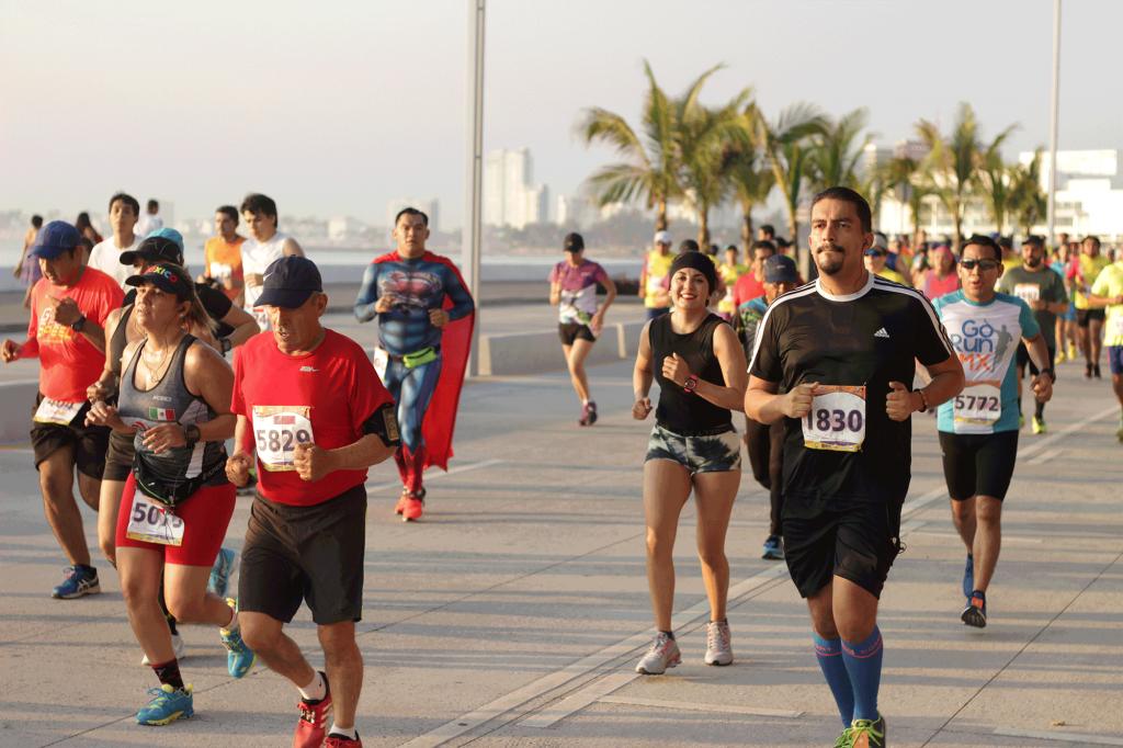 medio maraton veracruz 21K 2018